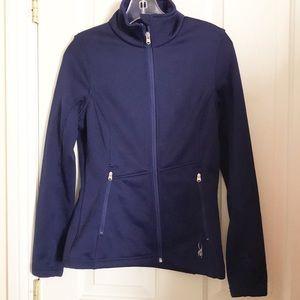 spyder full zip activewear jacket